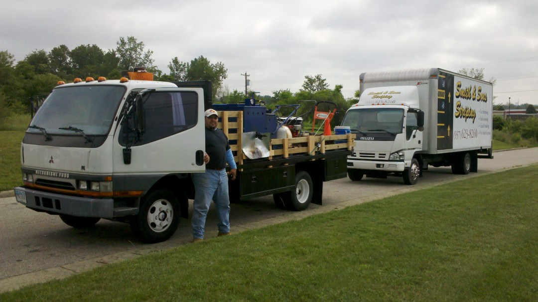Equipment and Striping Truck