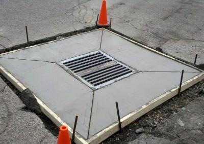 New Concrete Catch Basin