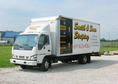 Striping Truck
