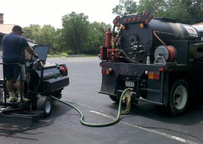 Sealer Truck & Power Squeegee